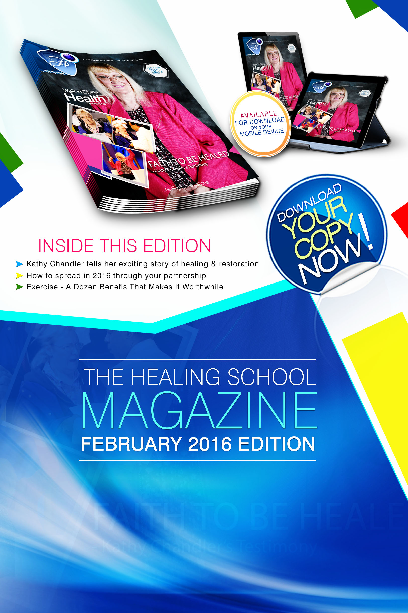 The Healing School Magazine - February 2016 Edition
