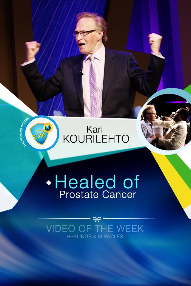 Healed of prostate cancer