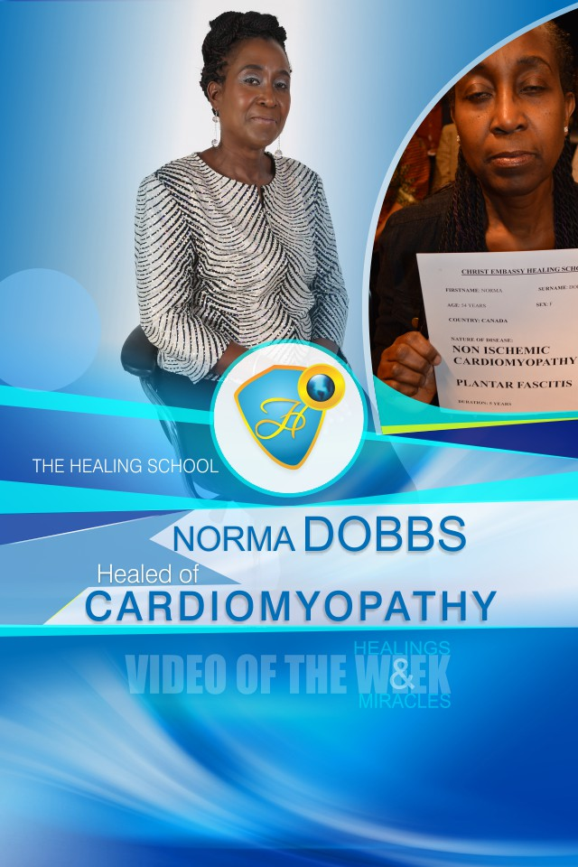 Healed of cardiomyopathy