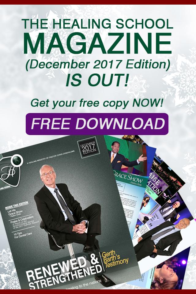 The Healing School Magazine - December 2017 Edition