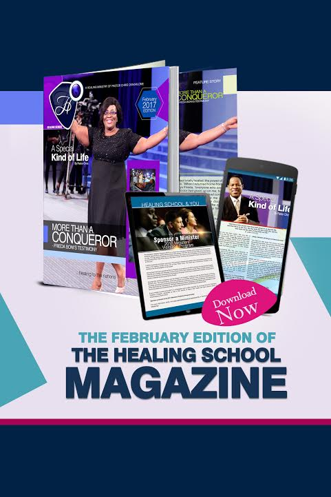 The Healing School Magazine - February 2017 Edition