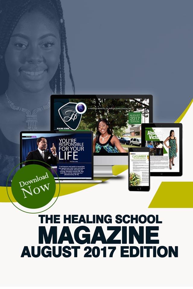 The Healing School Magazine - August 2017 Edition