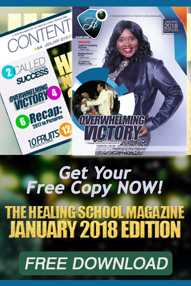 The Healing School Magazine - January 2018 Edition