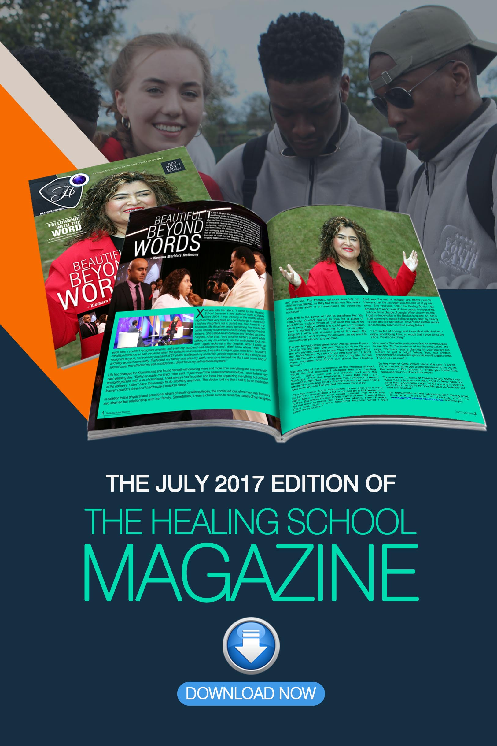 The Healing School Magazine - July 2017 Edition
