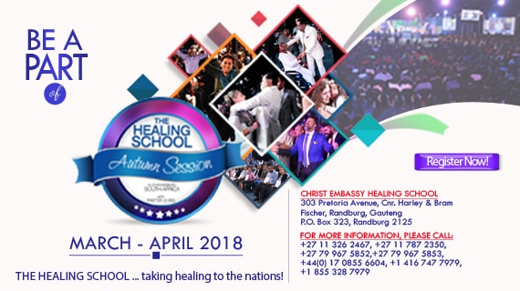 Register to attend the Healing School Session