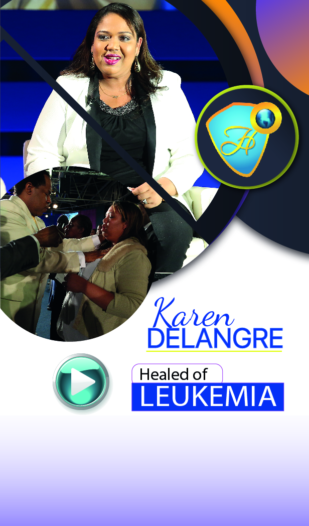 Healed of leukemia!