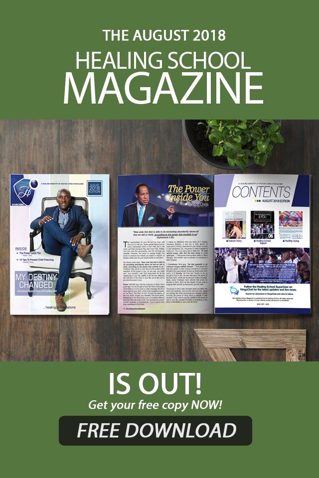 The Healing School Magazine - August 2018 Edition