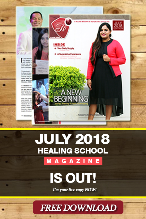 The Healing School Magazine - July 2018 Edition