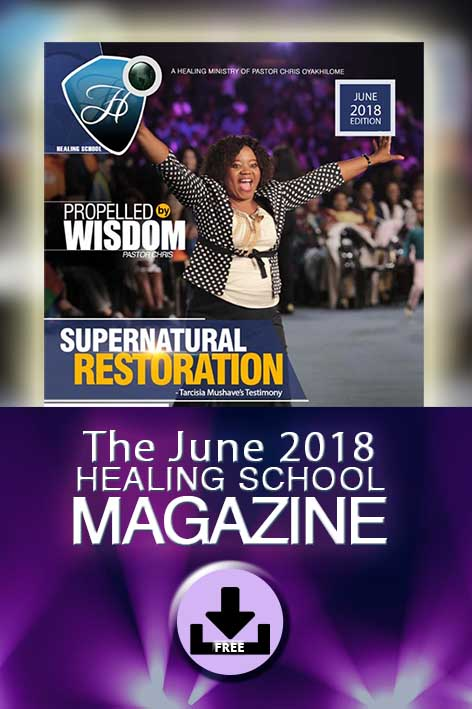 The Healing School Magazine - June 2018 Edition