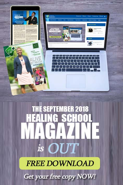 The Healing School Magazine - September 2018 Edition